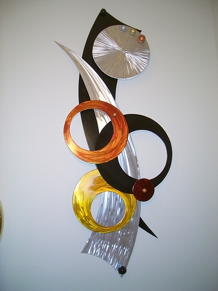 Newest Abstract Aluminium Wall Art In Aluminum Wall Art, Wall Sculptures In Brushed Aluminum And Abstract (View 7 of 15)