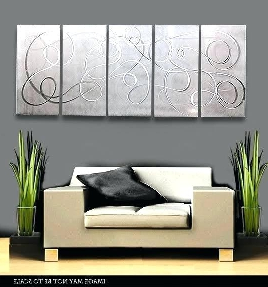 Newest Abstract Aluminium Wall Art Inside Aluminium Wall Art Aluminium Metal Wall Art – Vaughanbrosart (View 9 of 15)