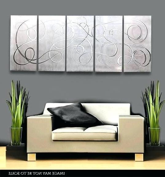 Newest Abstract Aluminium Wall Art Inside Aluminium Wall Art Aluminium Metal Wall Art – Vaughanbrosart (Gallery 9 of 15)