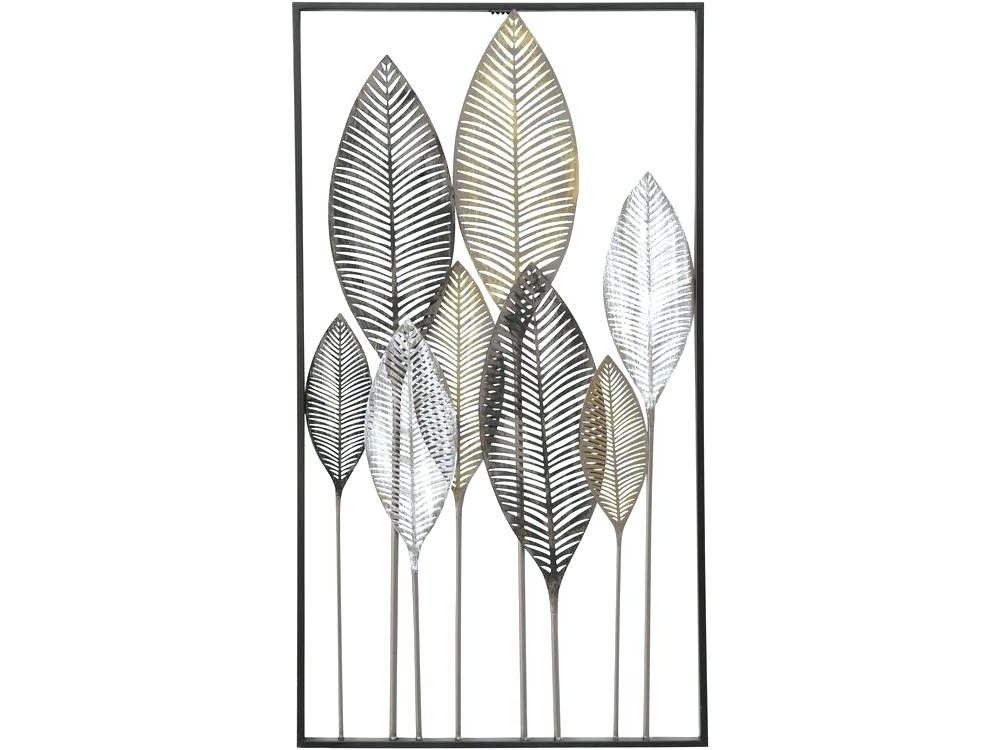 Newest Abstract Leaves Wall Art Within Metal Wall Art Leaves Leaves Metal Wall Art Exotic Leaf Metal Wall (View 10 of 15)