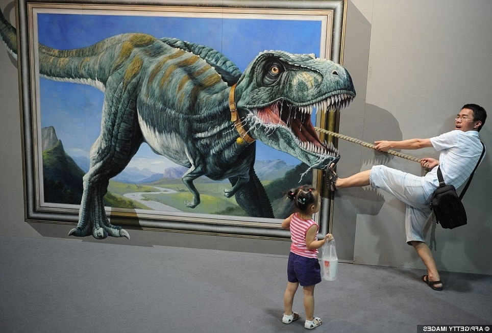 Newest Animals 3D Wall Art Throughout 25 Unparalleled 3D Wall Art For Charming Home (Gallery 9 of 15)