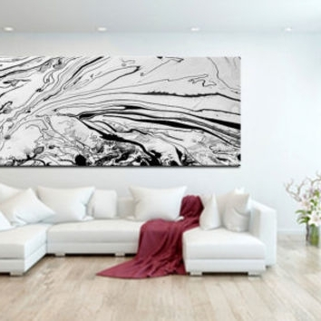 Newest Best Large Abstract Canvas Art Products On Wanelo Intended For Extra Large Abstract Wall Art (View 10 of 15)