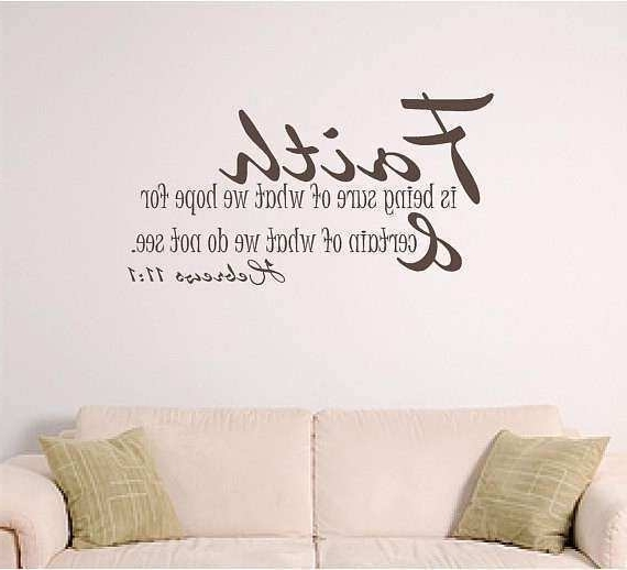 Newest Bible Verses Wall Art With Bible Verses On Wall Art Lovely Bible Verse Wall Art Faith (Gallery 3 of 15)