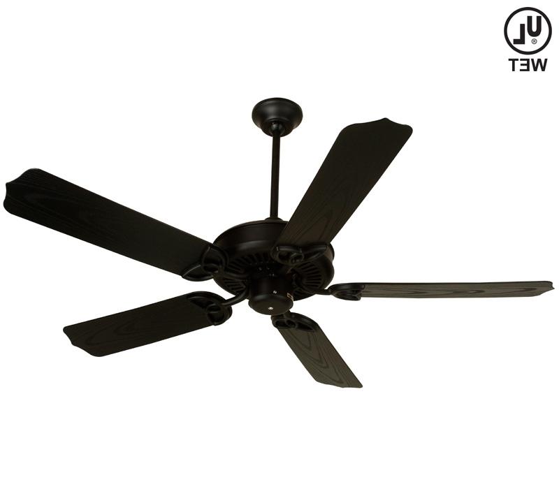 Newest Black Ceiling Fan, Under Deck Ceiling Black Outdoor Ceiling, Design In Outdoor Ceiling Fan Under Deck (View 11 of 15)