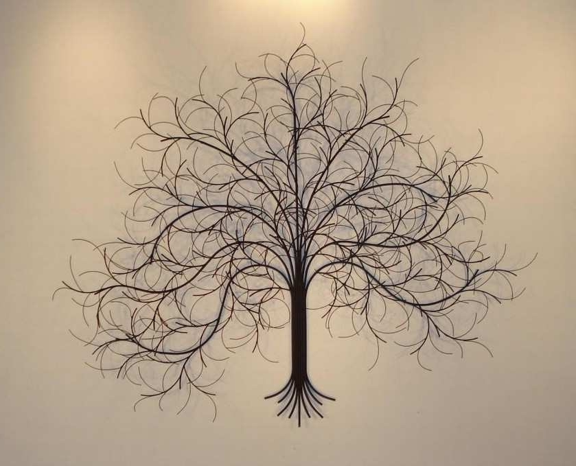Newest Bronze Tree Wall Art In Metal Tree Wall Art Best Of Wall Art Metal 2017 Grasscloth Wallpaper (View 13 of 15)