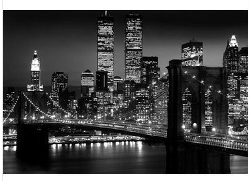 Newest Brooklyn Bridge Wall Decals Inside 2016 New Posters Living Room Wall Stickers Posters New York City (View 9 of 15)