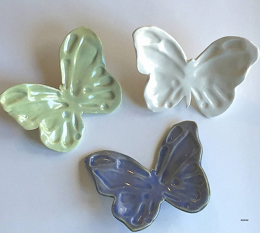 Newest Ceramic Butterfly Wall Art With Wall Art: Elegant Ceramic Butterfly Wall A ~ Robotsgonebad (View 12 of 15)