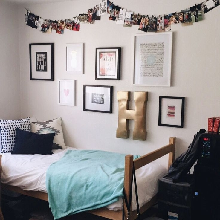 Newest College Dorm Wall Art Within Wall Art For College Dorms Fresh Winsome College Dorm Wall Decor  (View 8 of 15)