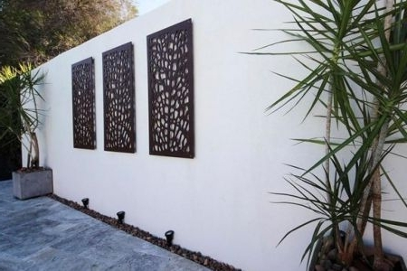 Newest Contemporary Outdoor Wall Art – Chapmanbfashowcase Intended For Contemporary Outdoor Wall Art (Gallery 6 of 15)