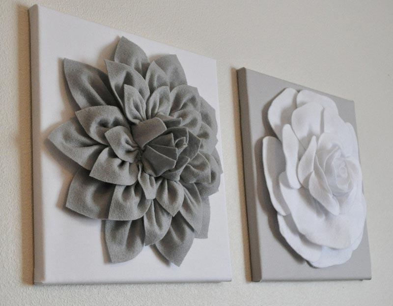 Newest D Flower Wall Art Flowers D Wall Art Wall Art Ideas Meaning Of With Regard To 3D Flower Wall Art (Gallery 5 of 15)