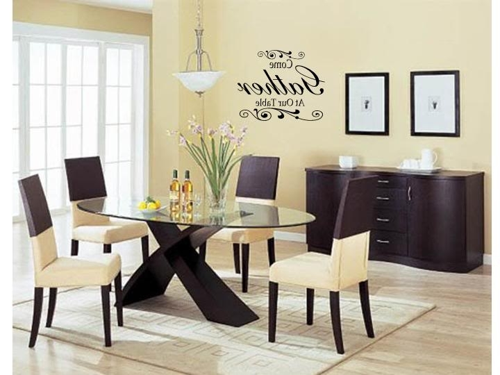 Newest Dining Area Wall Art With Decorations For Dining Room Walls Inspiration Ideas Decor Simple (Gallery 15 of 15)