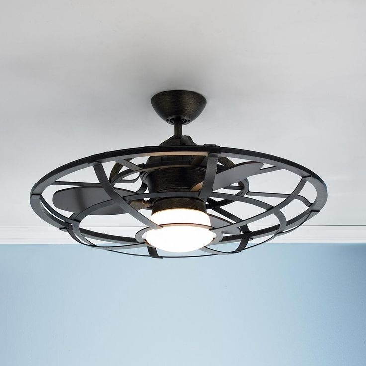 Newest Enclosed Outdoor Ceiling Fans (View 11 of 15)