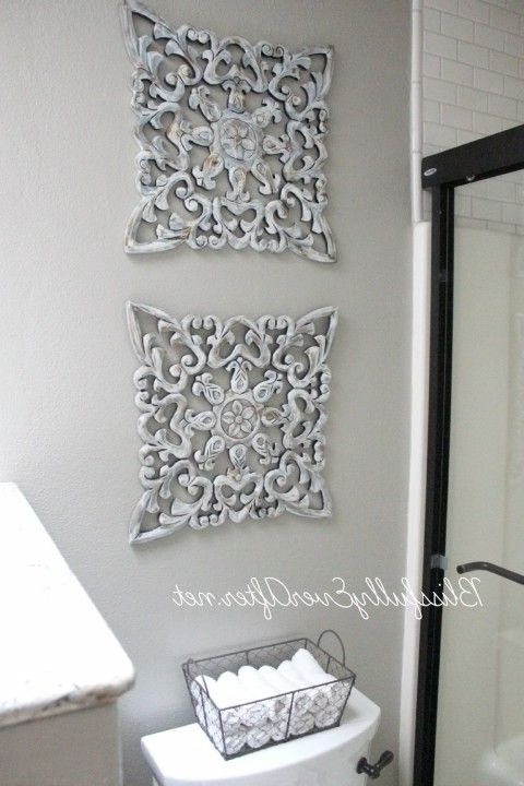 Newest Enhance Beauty Of Wallswall Decorations – Darbylanefurniture For Bathroom Wall Hangings (View 9 of 15)