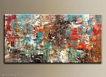 Newest Extra Large Canvas Abstract Wall Art Throughout Oversized Canvas Art Large Canvas Art Oversized Abstract Art (Gallery 12 of 15)