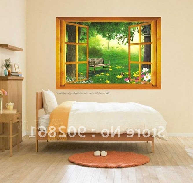 Newest Fake Window Wall Art Uk – Wall Design Ideas Pertaining To 3D Wall Art Window (View 12 of 15)