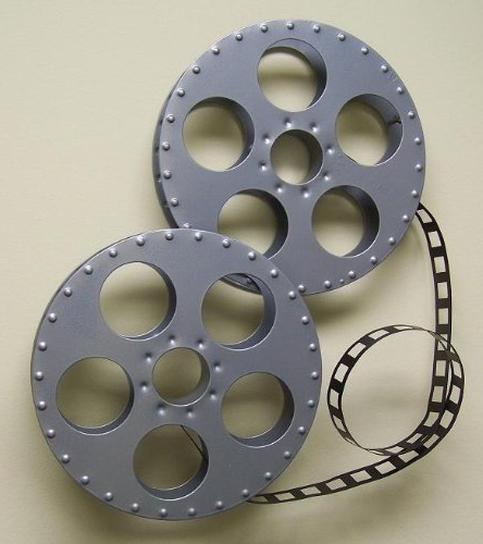 Newest Film Reel Wall Art In Film Reel Wall Art Home Theater Hanging Film Maker: Amazon.co (View 11 of 15)