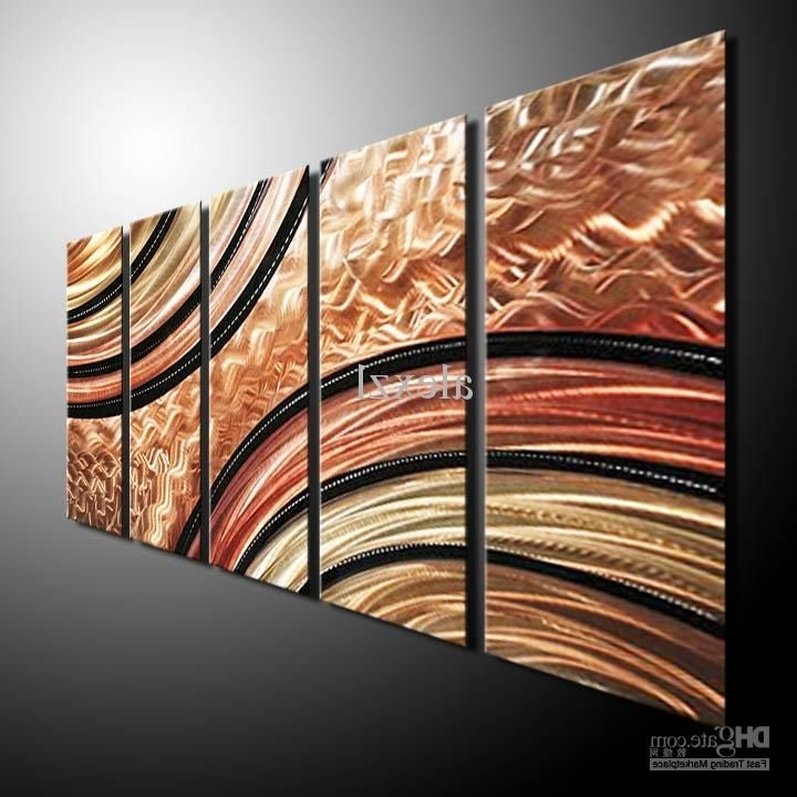 Newest Inexpensive Abstract Metal Wall Art Within Metal Wall Art Abstract Contemporary Sculpture Home Decor Modern (View 11 of 15)