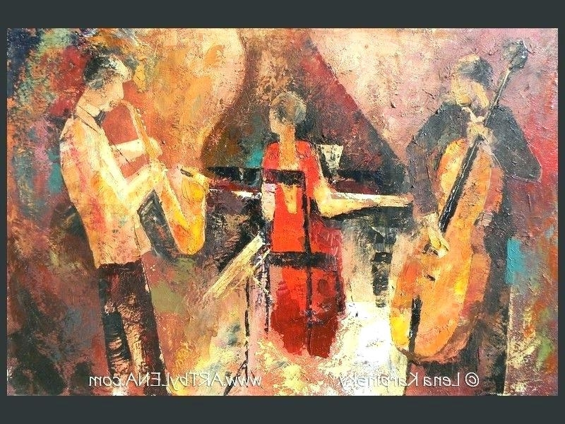 Newest Jazz Wall Art Jazz Metal Wall Art Sculpture Jazz Musicians Metal With Abstract Jazz Band Wall Art (View 13 of 15)