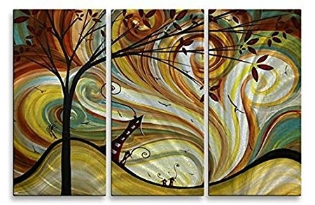 Newest Megan Duncanson 'out West' Tree Sun Contemporary Metal Wall Art Within Megan Duncanson Metal Wall Art (Gallery 12 of 15)
