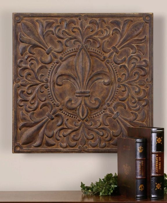 Newest Metal Fleur De Lis Wall Art New Fleur De Lis Room Decor In Fleur De Lis Metal Wall Art (View 9 of 15)