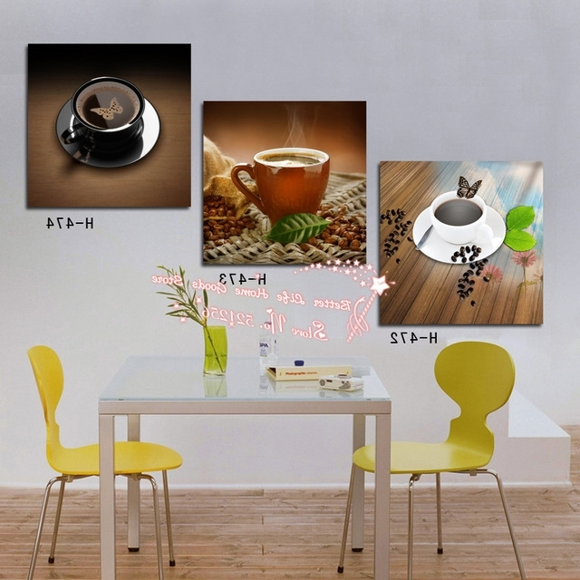 Newest Modern Wall Art Home Decoration Printed Oil Painting Pictures 3 Within Abstract Kitchen Wall Art (View 2 of 15)