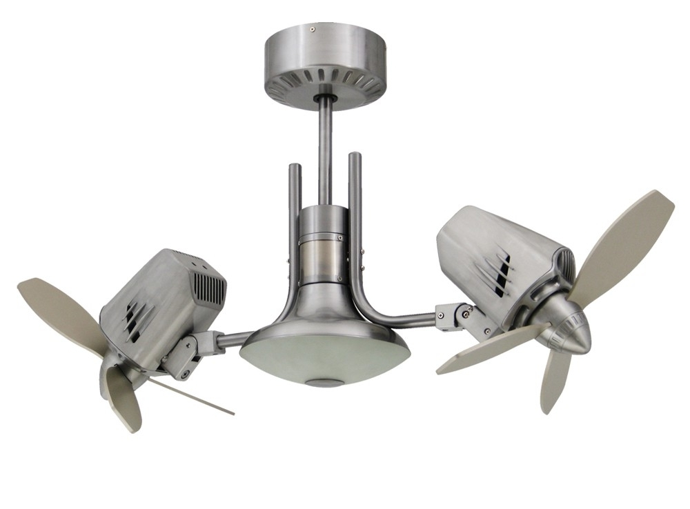 Newest Mustang Ii Double Oscillating Ceiling Fan Pertaining To Outdoor Double Oscillating Ceiling Fans (View 6 of 15)