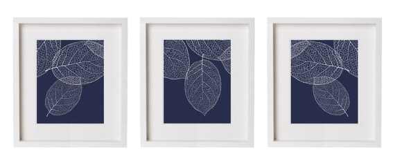 Newest Soothing Navy Blue Wall Art (View 4 of 15)