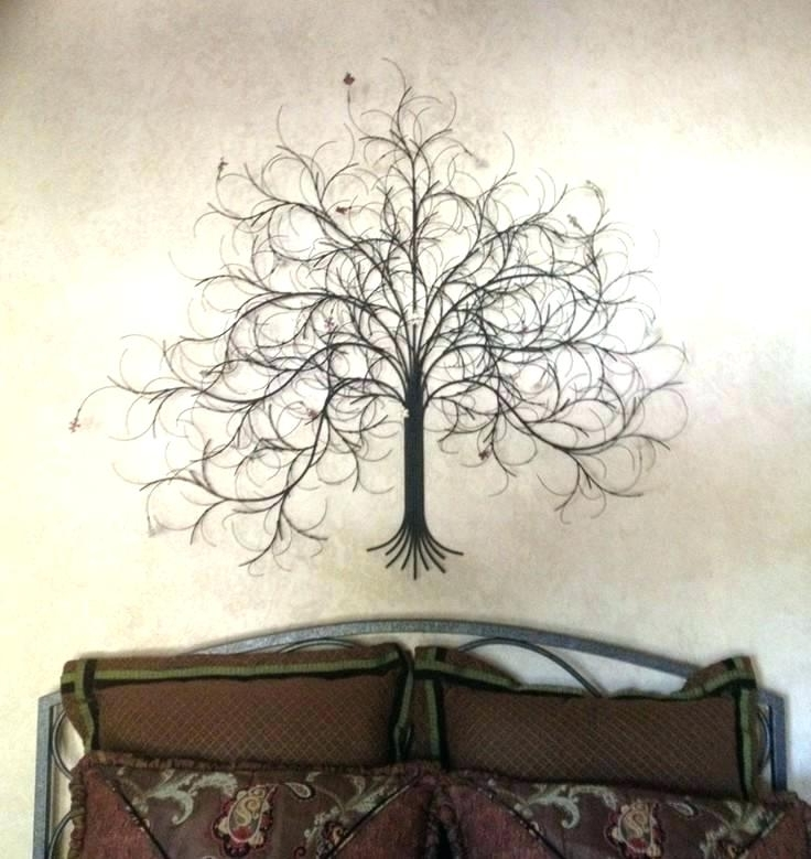 Newest Tree Wall Art Sculpture With Regard To Metal Tree Tree Art Metal Wall Art Metal Tree Art Family Tree Metal (Gallery 13 of 15)