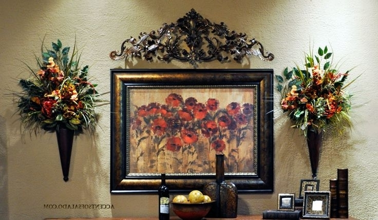 Newest Tuscan Wall Art Decor Throughout Wall Art Designs Tuscan Wall Art Home Glossy Large Tuscan With (Gallery 15 of 15)