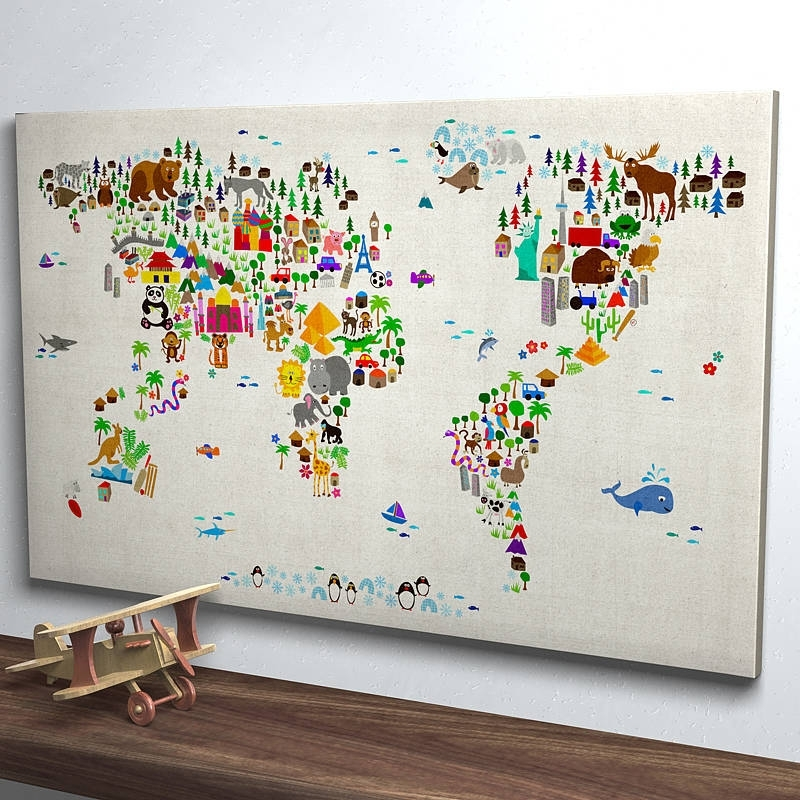 Newest Wall Art Designs: Most Historical World Map Wall Art, World Map Wall Regarding Maps For Wall Art (View 11 of 15)