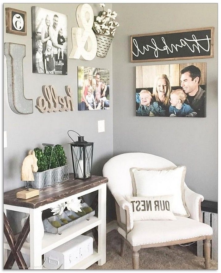 Newest Wall Decor Under 20 – Home Design And Wall Decoration Ideas With Wall Art Decor For Family Room (View 7 of 15)