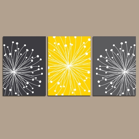 Newest Wall Decoration. Yellow And Grey Wall Art – Wall Decoration And Wall For Yellow Grey Wall Art (Gallery 12 of 15)