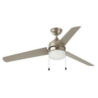 Nickel Outdoor Ceiling Fans Intended For Trendy 60 Or Greater – Nickel – Outdoor – Ceiling Fans – Lighting – The (View 10 of 15)