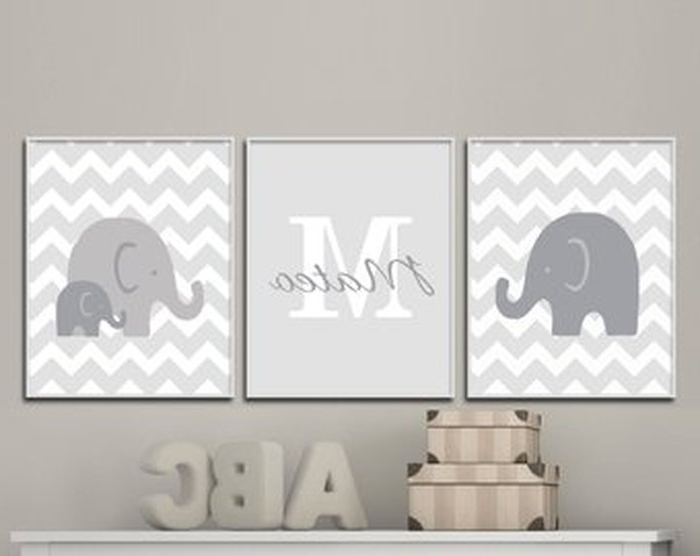 Nursery Wall Art Etsy ~ Bradpike In Preferred Etsy Childrens Wall Art (View 13 of 15)
