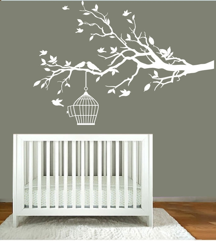 Nursery Wall Decals Etsy — Batchelor Resort Home Ideas : Expand Your Pertaining To Newest Etsy Childrens Wall Art (View 12 of 15)