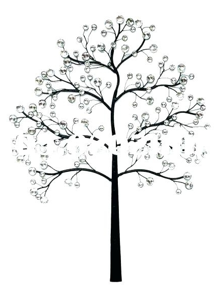 Oak Tree Metal Wall Art With Best And Newest Oak Tree Metal Wall Art Tree Of Life Industrial Metal Wall Art In (View 6 of 15)