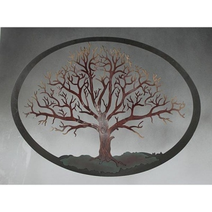 Oak Tree Wall Art Inside Most Recent  (View 9 of 15)
