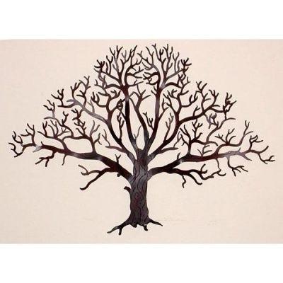 Oak Tree Wall Hanging 15 Inch – Courtyard Art To Use As Monogram On Inside Recent Oak Tree Wall Art (View 13 of 15)