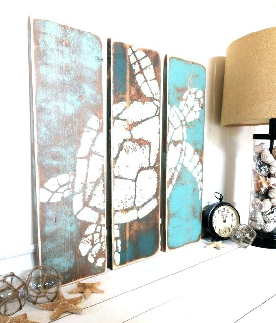 Ocean Wall Decor Ocean Wall Decor Nautical Bedroom Furniture Beach for Newest Beach Wall Art For Bedroom