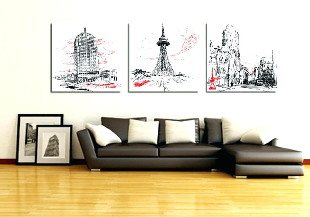 Office Wall Art Ideas Photo Wall Art Office Wall Paintings 3 Piece With Regard To Well Known Abstract Wall Art For Office (View 11 of 15)