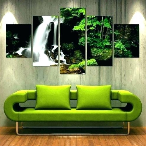 Olive Green Abstract Wall Art In Most Current Green Metal Wall Art Olive Green Wall Art Medium Size Of Olive Green (View 13 of 15)