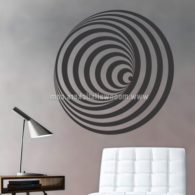 Optical Illusion Wall Art For 2017 32 Optical Illusion Wall Art, Optical Illusion Wall Art Vitalmag (View 3 of 15)