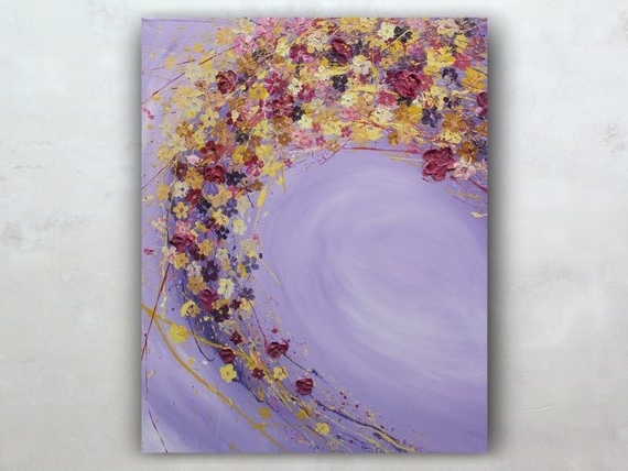 Original Abstract Wall Art In Preferred Abstract Canvas Art Wall Art Canvas Painting Original Abstract (View 9 of 15)