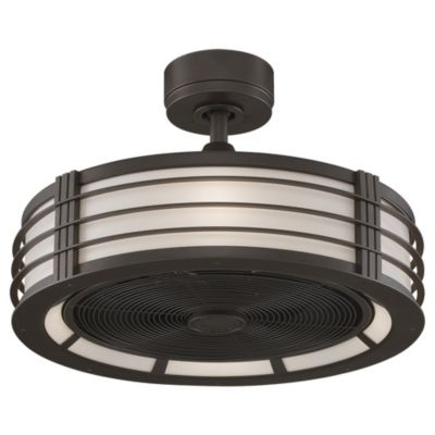 Outdoor Cage Ceiling Fan With Light – Adamhosmer With Regard To Most Recent Outdoor Caged Ceiling Fans With Light (View 7 of 15)
