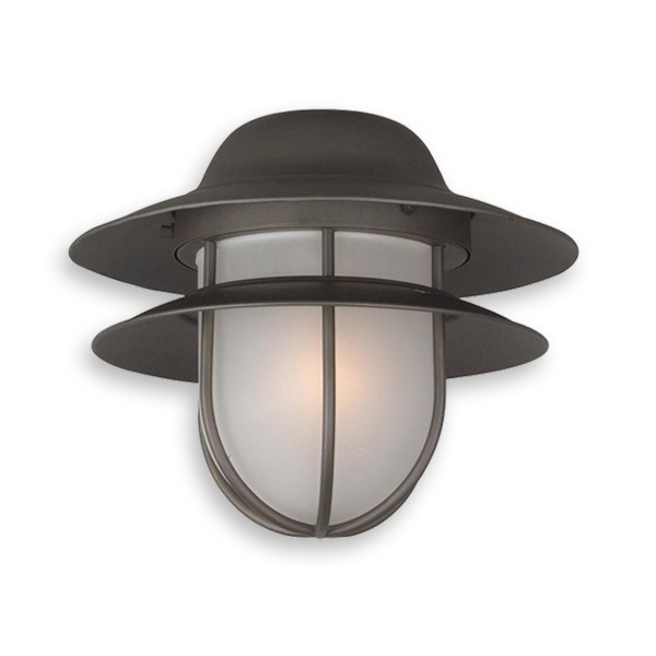 Outdoor Ceiling Fan Light Fixtures In Most Recent Olk67Cfl Indoor/outdoor Ceiling Fan Light – Nautical Style W (View 9 of 15)