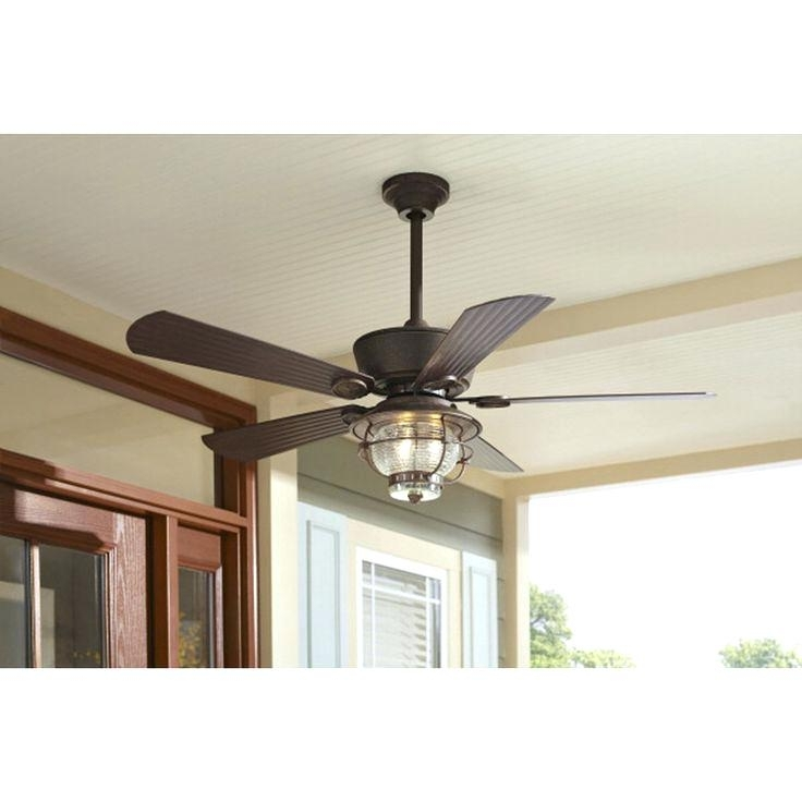 Outdoor Ceiling Fan Light Fixtures Within Trendy Outdoor Fan With Light Large Size Of Hunter Ceiling Fan Light Kit (View 12 of 15)
