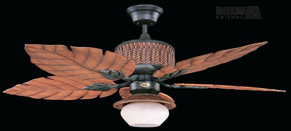 Outdoor Ceiling Fan With Light Kit Concord Fans Breeze Tropical In 2017 Tropical Outdoor Ceiling Fans With Lights (View 8 of 15)