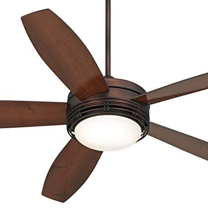 "Outdoor Ceiling Fans At Amazon Intended For Famous 60"" Casa Province Bronze Outdoor Ceiling Fan – – Amazon (View 12 of 15)"