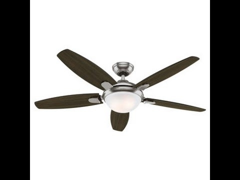 Outdoor Ceiling Fans At Costco With Well Known Costco Hunter 54 Inch Contempo Ceiling Fan Review Item # (View 3 of 15)