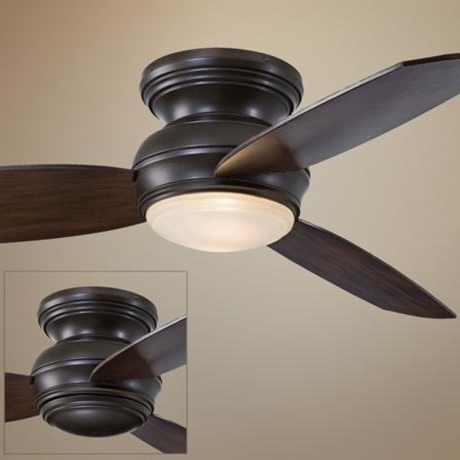 Outdoor Ceiling Fans Flush Mount With Light For Current Ceiling Fans: 42 New Small Outdoor Ceiling Fans Ide ~ Staubindeteran (View 5 of 15)